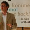 "Lecture of Marcus Herntrei, researcher at the EURAC research Bolzano Institute for Regional Development and Location Management at the conference ""We will come back"" on adult repeat visitors in archeological open-air museumsSeptember 2011"