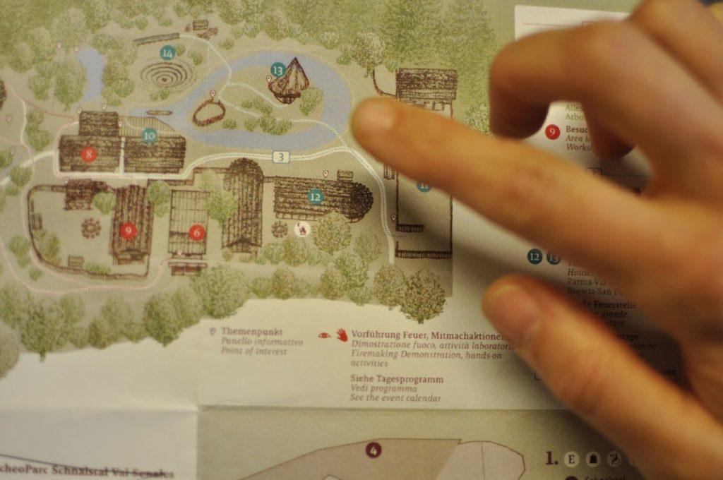 Neuer Geländeplan<br/>Nuova planimetria<br/>New area plan