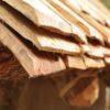 Detail des SchindeldachsDettaglio del tetto a scandoleDetail of the shingle roof2710 BCVillanders-Plunacker, I